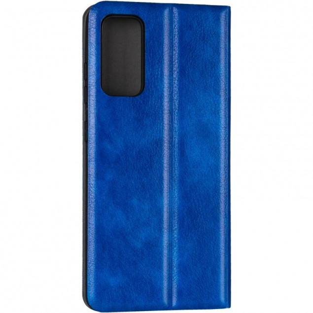 Book Cover Leather Gelius New for Samsung G780 (S20 FE) Blue