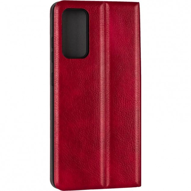 Book Cover Leather Gelius New for Samsung G780 (S20 FE) Red