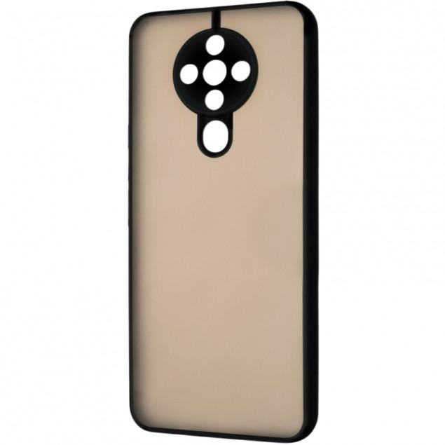 Gelius Bumper Mat Case for Tecno Spark 6 Black