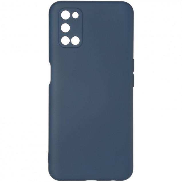 Full Soft Case for Oppo A54 Dark Blue