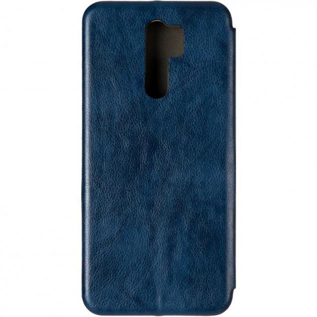 Book Cover Leather Gelius for Xiaomi Redmi 9 Blue