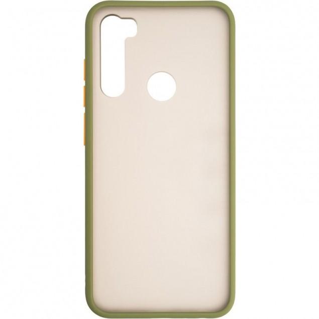Gelius Bumper Mat Case for Xiaomi Redmi Note 8t Green