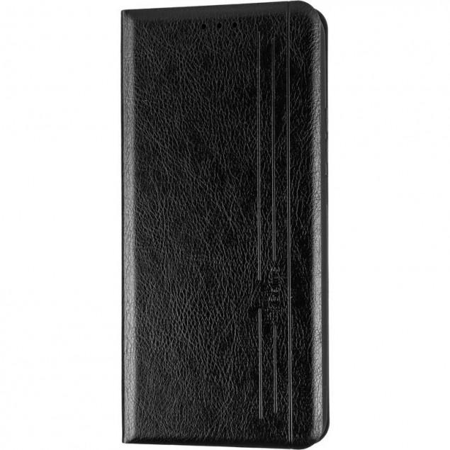 Book Cover Leather Gelius New for Xiaomi Redmi 9 Black