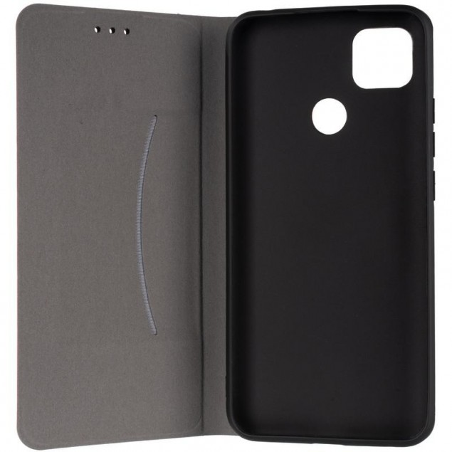 Book Cover Leather Gelius New for Xiaomi Redmi 9c Red
