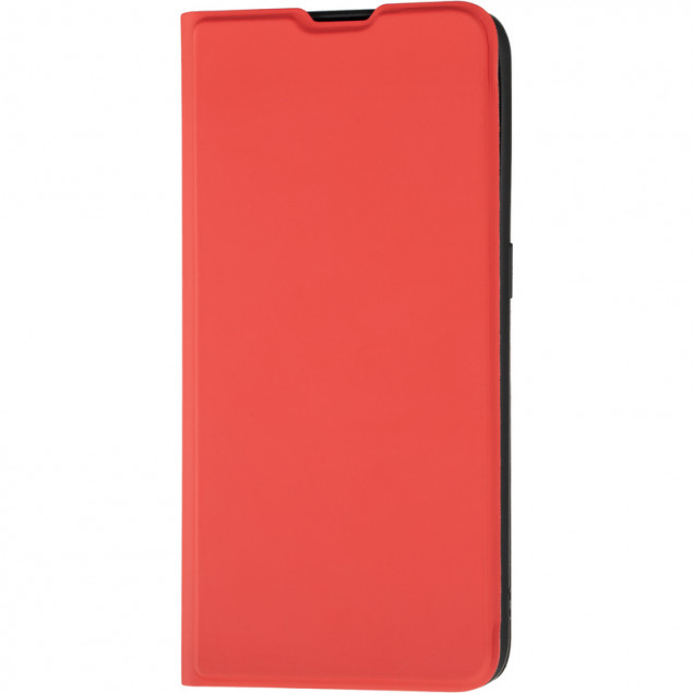 Book Cover Gelius Shell Case for Oppo A32/A53 Red
