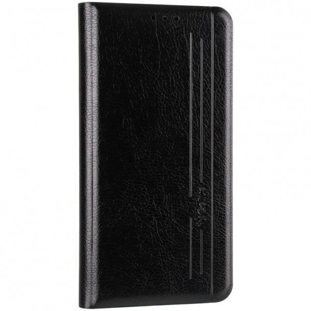 Book Cover Leather Gelius New for iPhone 12/12 Pro Black