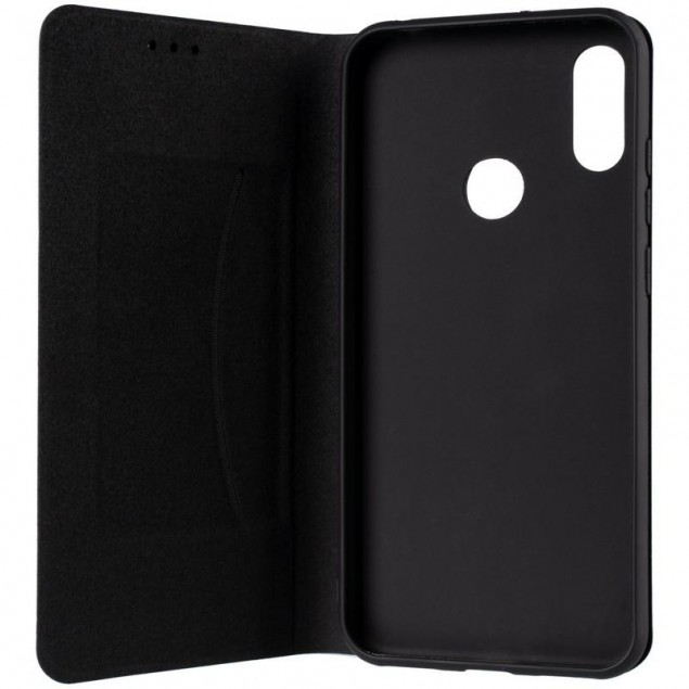 Book Cover Leather Gelius New for Huawei Y6s/Y6 Prime (2019)/Honor 8a Black