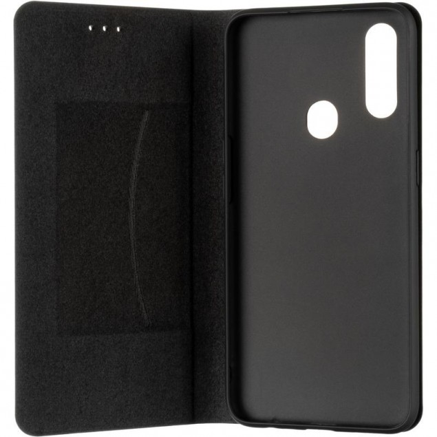 Book Cover Leather Gelius New for Oppo A31 Black