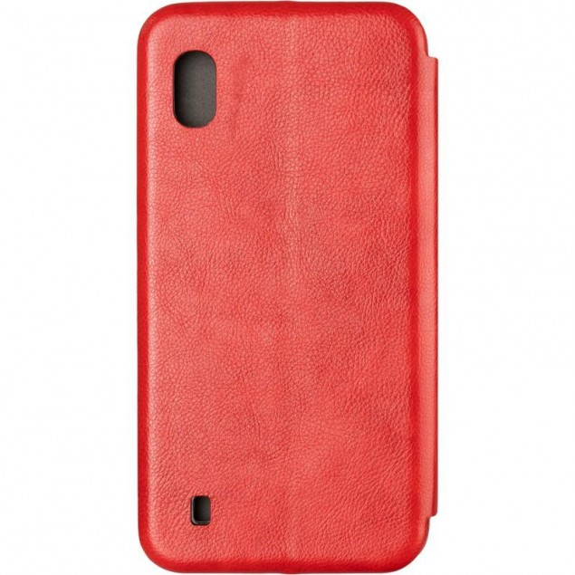 Book Cover Leather Gelius for Samsung A105 (A10) Red