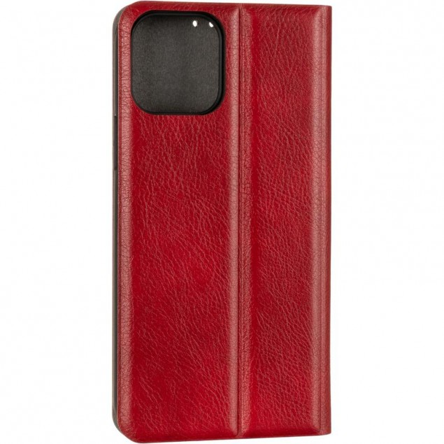 Book Cover Leather Gelius New for iPhone 12/12 Pro Red