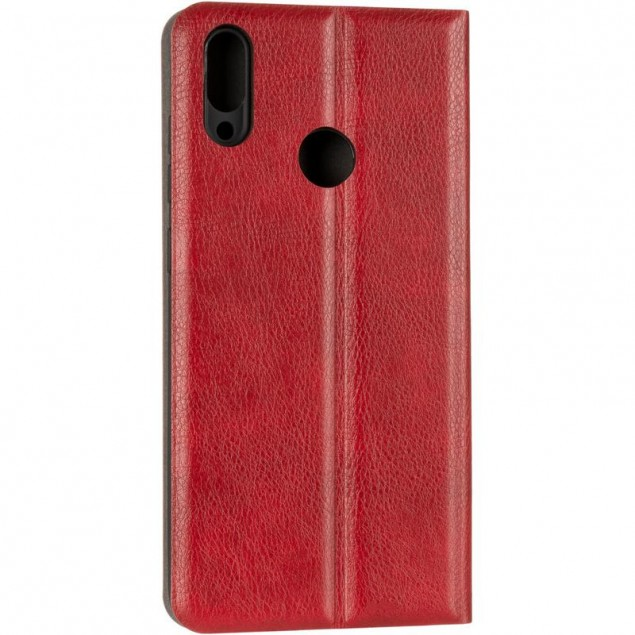 Book Cover Leather Gelius New for Huawei Y7 (2019) Red