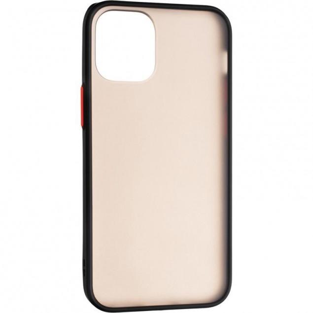 Gelius Bumper Mat Case for iPhone 12 Mini Black