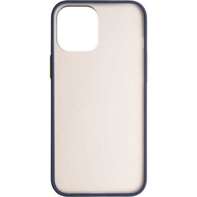Gelius Bumper Mat Case for iPhone 12 Pro Max Blue
