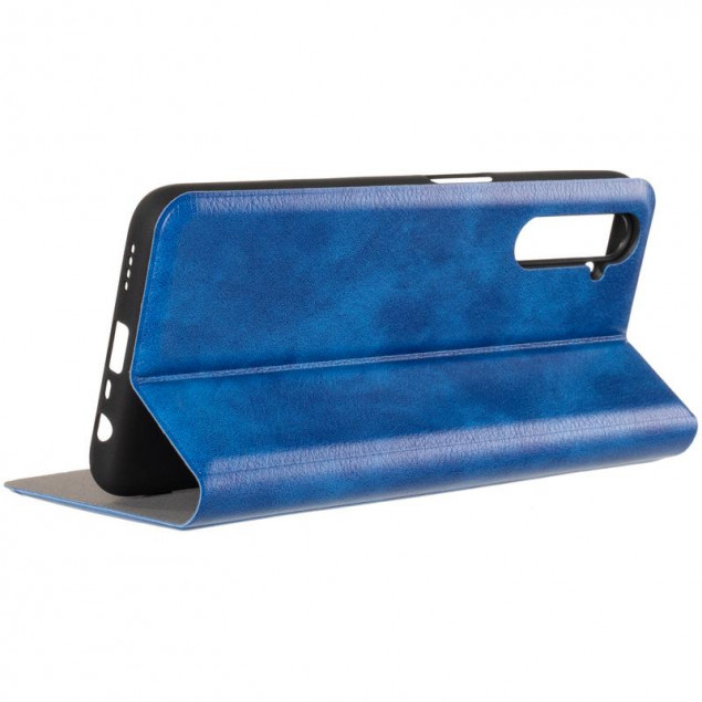 Book Cover Leather Gelius New for Realme 6 Blue