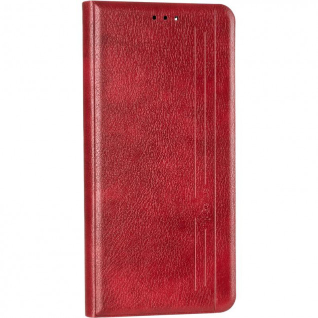Book Cover Leather Gelius New for Realme C11 Red