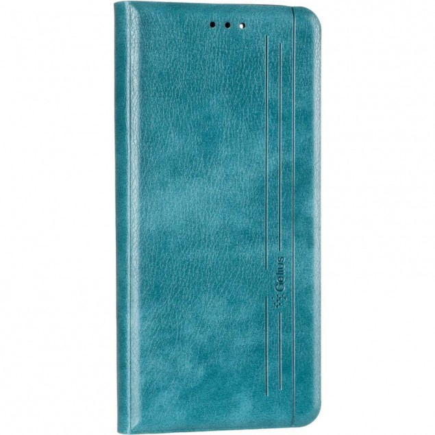 Book Cover Leather Gelius New for Realme C11 Green