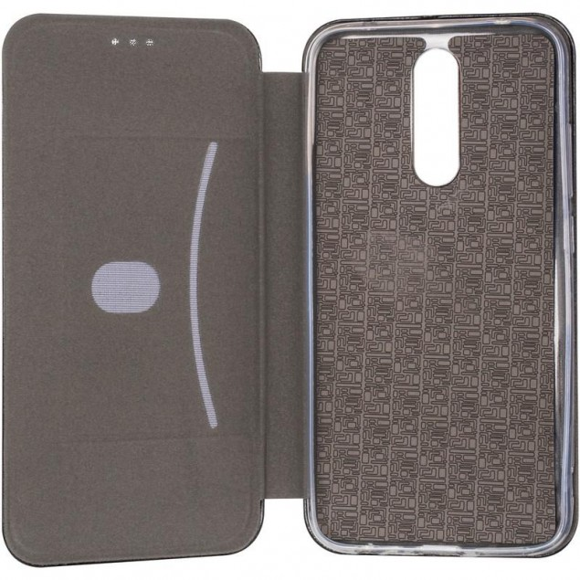 Book Cover Leather Gelius for Xiaomi Redmi 8 Black