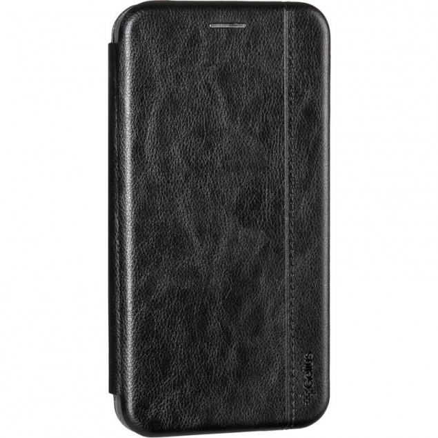 Book Cover Leather Gelius for Xiaomi Redmi Note 8 Black