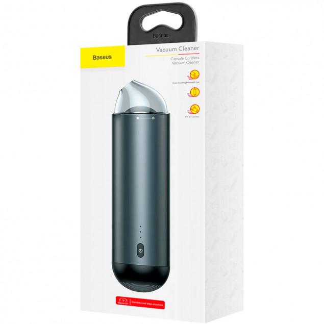 Baseus Capsule Cordless Vacuum Cleaner (CRXCQ01-01) Black (Портативный пылесос)