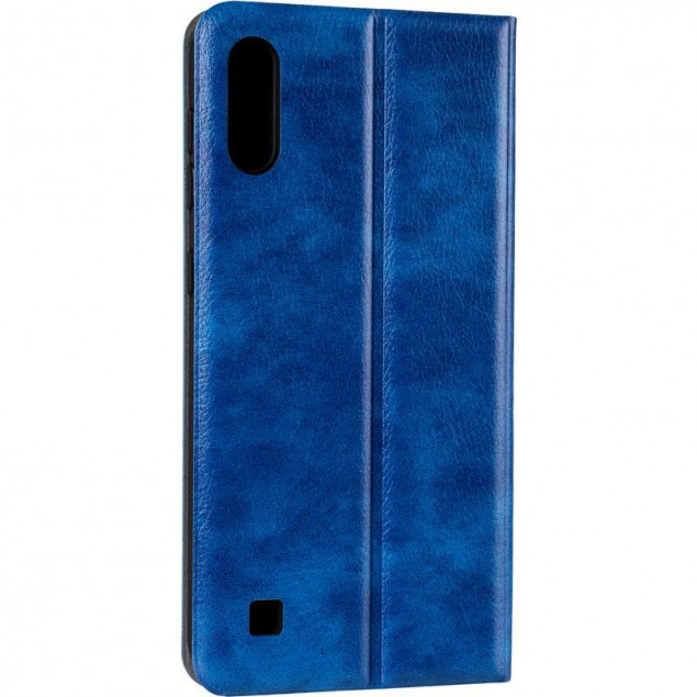 Book Cover Leather Gelius New for Samsung M105 (M10) Blue