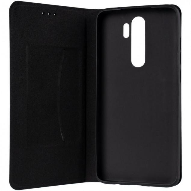 Book Cover Leather Gelius New for Xiaomi Redmi Note 8 Pro Black