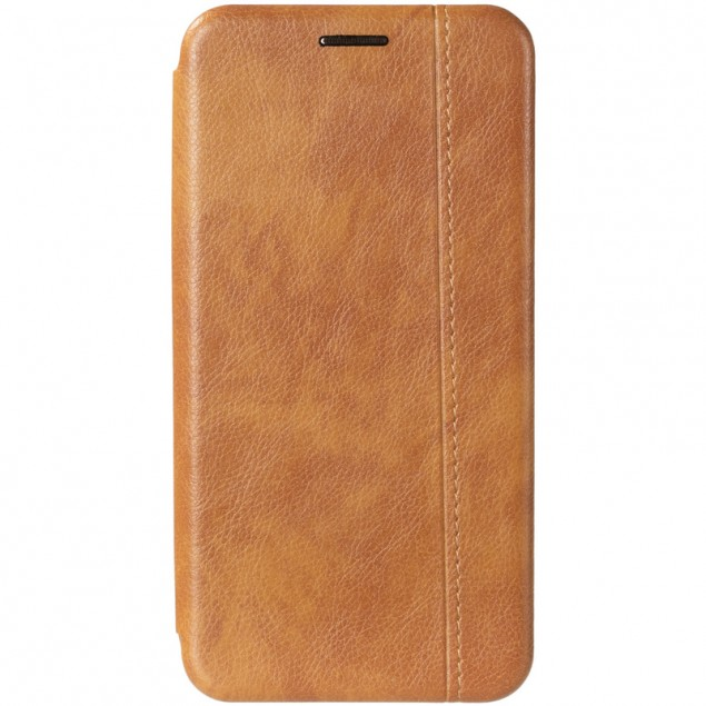 Book Cover Leather Gelius for Samsung G970 (S10e) Gold