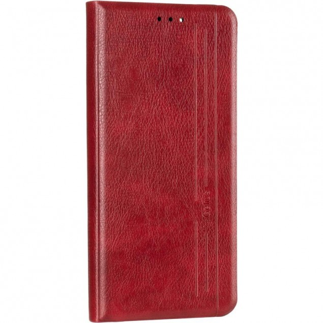 Book Cover Leather Gelius New for Oppo Reno 4 Lite/A93 Red