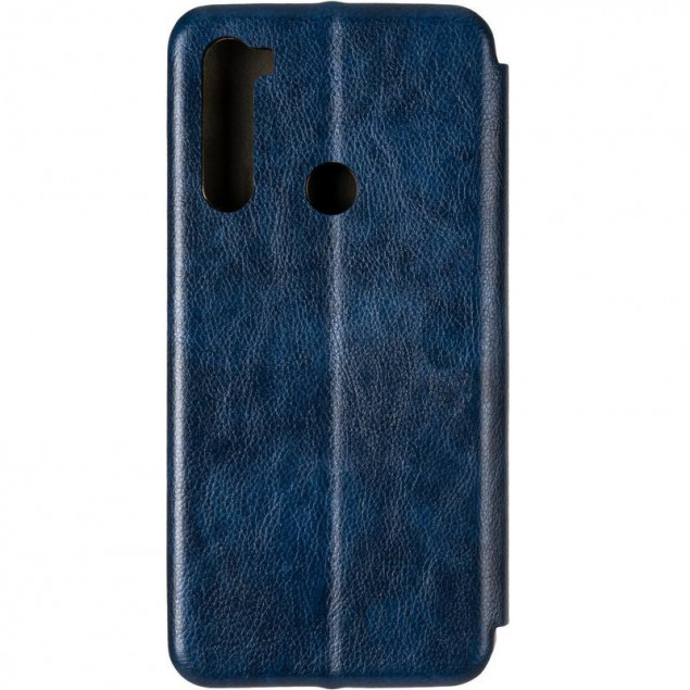 Book Cover Leather Gelius for Xiaomi Redmi Note 8t Blue