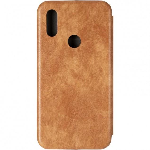 Book Cover Leather Gelius for Xiaomi Redmi 7 Gold