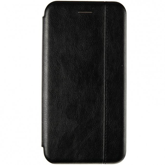 Book Cover Leather Gelius for Huawei P40 Lite E Black