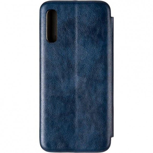 Book Cover Leather Gelius for Samsung A505 (A50) Blue