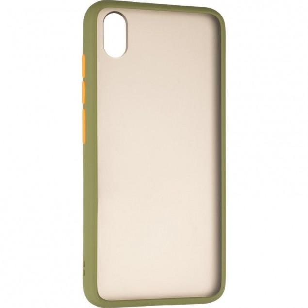 Gelius Bumper Mat Case for Xiaomi Redmi 7a Green
