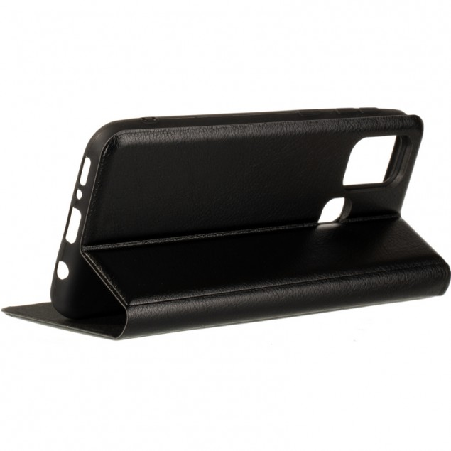 Book Cover Leather Gelius New for Samsung M217 (M21s) Black
