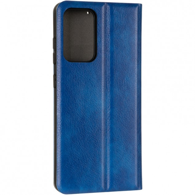 Book Cover Leather Gelius New for Samsung A525 (A52) Blue