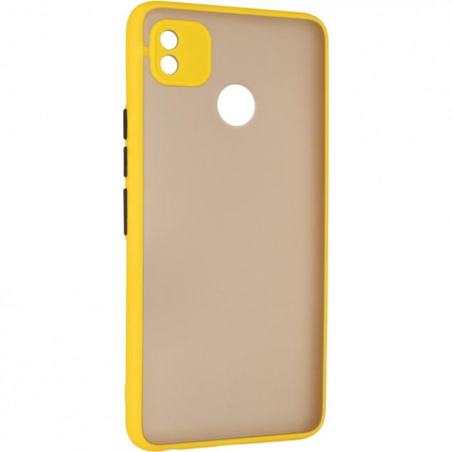 Gelius Bumper Mat Case for Tecno Pop 4 Yellow