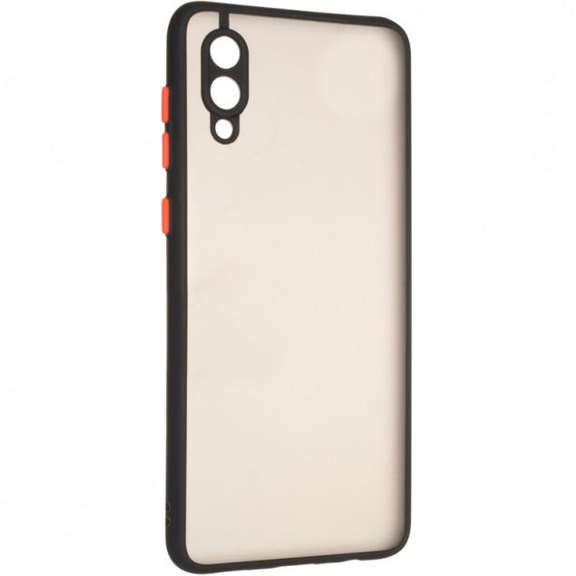 Gelius Bumper Mat Case for Samsung A022 (A02) Black