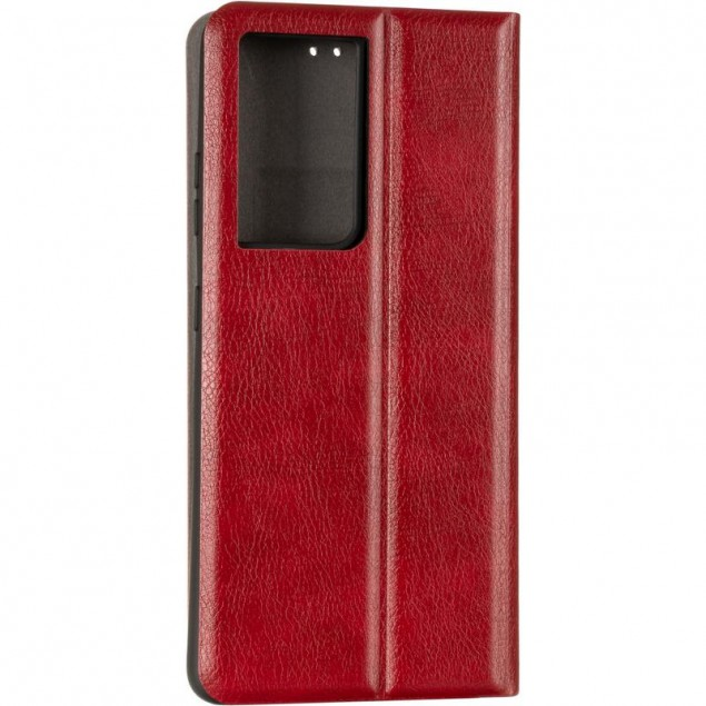 Book Cover Leather Gelius New for Samsung G998 (S21 Ultra) Red