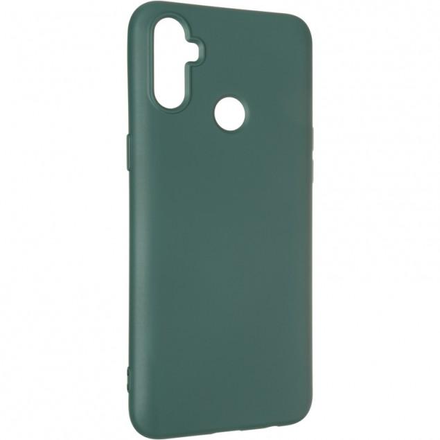 Full Soft Case for Realme C3 Dark Green
