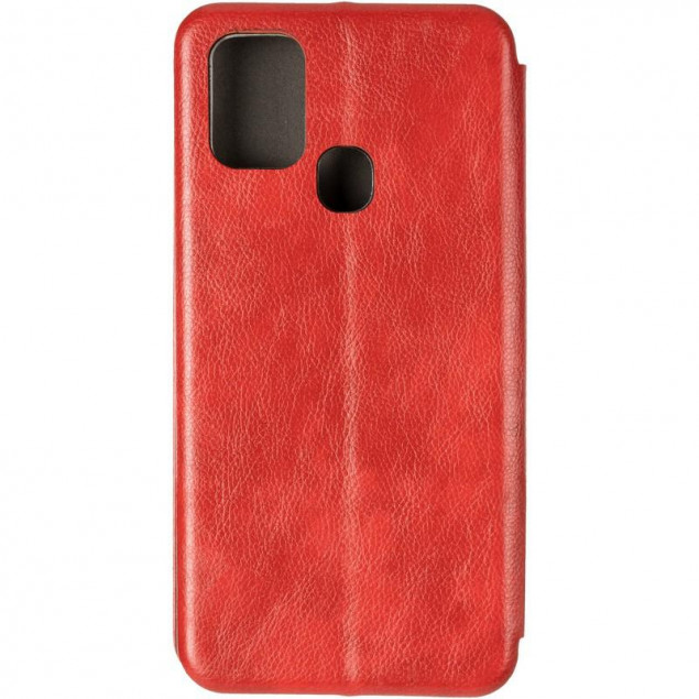 Book Cover Leather Gelius for Samsung A217 (A21s) Red