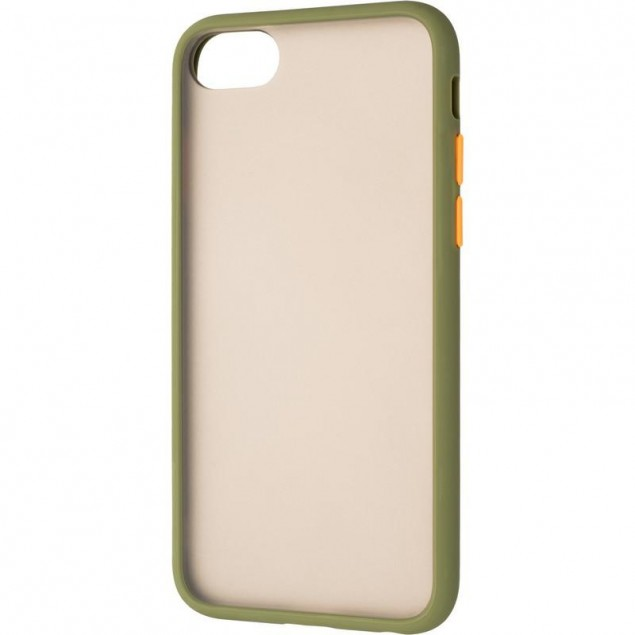 Gelius Bumper Mat Case for iPhone 7/8 Green