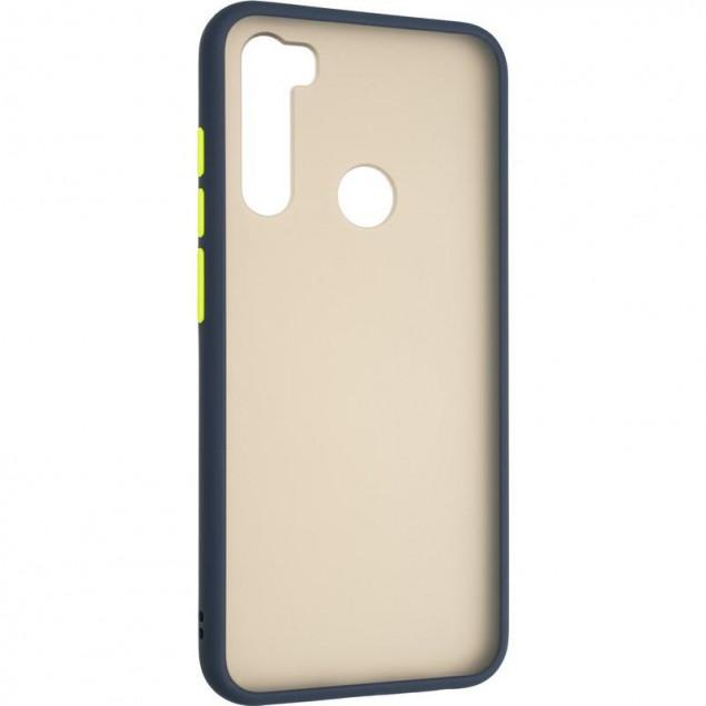 Gelius Bumper Mat Case for Xiaomi Redmi Note 8t Blue
