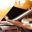 Baseus Auto Close Car Front Window Sunshade 64' (CRZYD-B0S) Silver (Автомобильная солнцезащитная шторка)