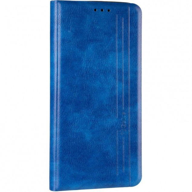 Book Cover Leather Gelius New for Samsung A315 (A31) Blue