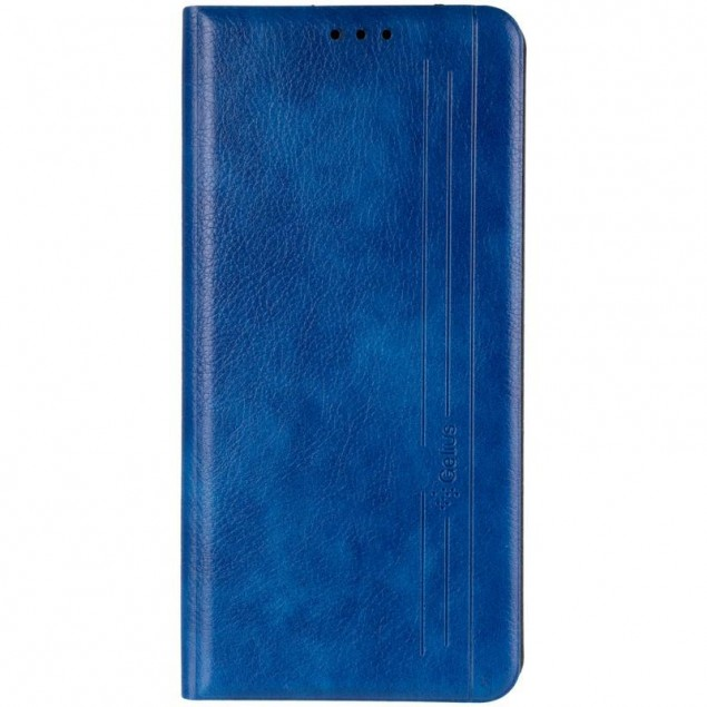 Book Cover Leather Gelius New for Samsung A115 (A11)/M115 (M11) Blue