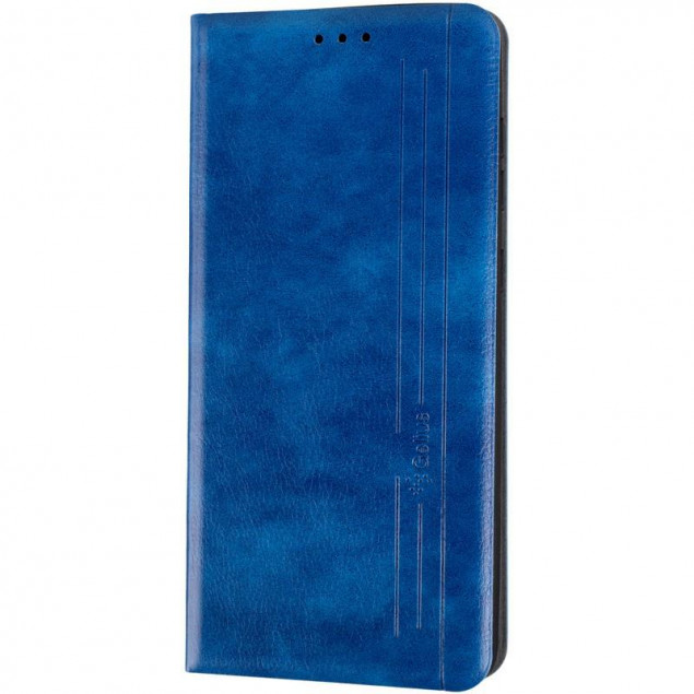 Book Cover Leather Gelius New for Samsung A217 (A21s) Blue