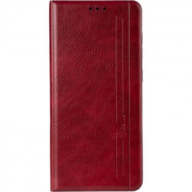 Book Cover Leather Gelius New for Samsung A715 (A71) Red