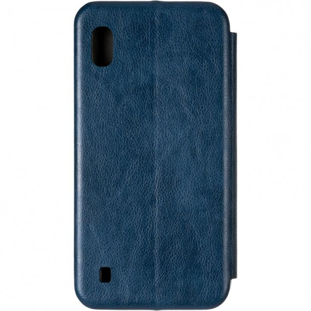 Book Cover Leather Gelius for Samsung A105 (A10) Blue