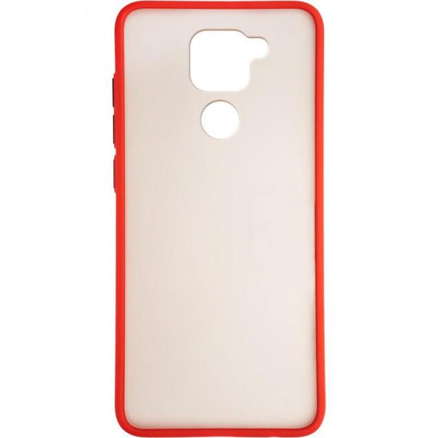 Gelius Bumper Mat Case for Xiaomi Redmi Note 9 Red