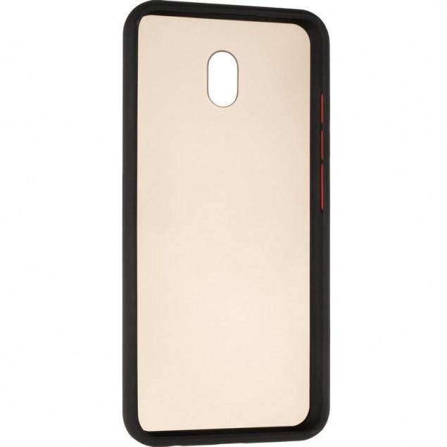 Gelius Bumper Mat Case for Xiaomi Redmi 8a Black