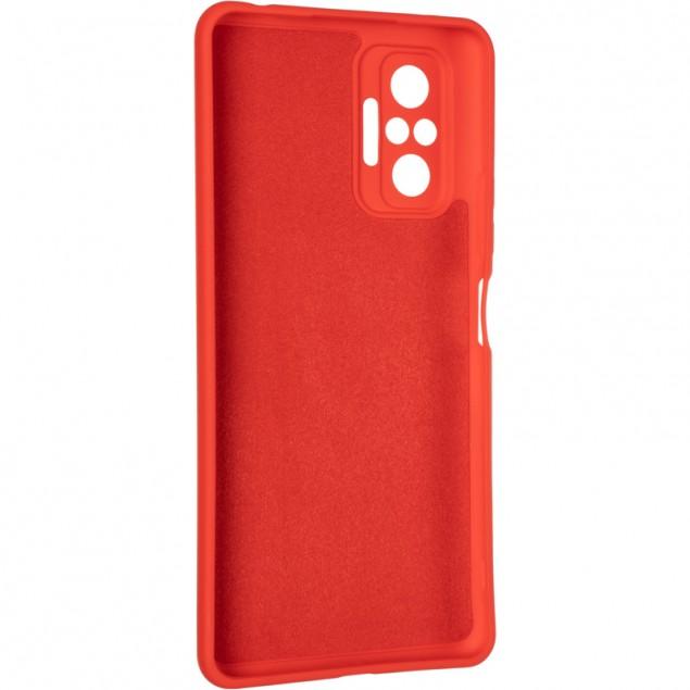 Full Soft Case for Xiaomi Redmi Note 10 Pro Red